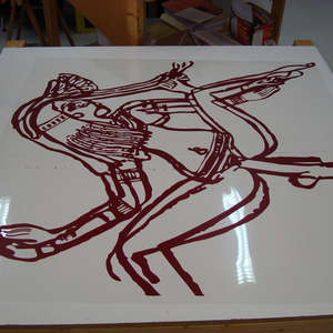 Image 14 - At work Plexiglas, 2015, JP Sergent
