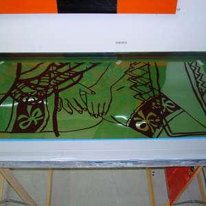 Image 123 - At work Plexiglas, 2015, JP Sergent