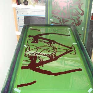 Image 119 - At work Plexiglas, 2015, JP Sergent
