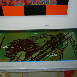 Image 125 - At work Plexiglas, 2015, JP Sergent