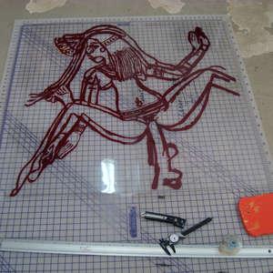 Image 13 - At work Plexiglas, 2015, JP Sergent