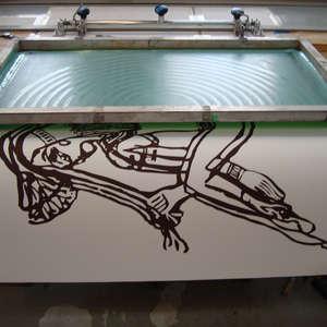 Image 88 - At work Plexiglas, 2015, JP Sergent