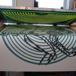 Image 90 - At work Plexiglas, 2015, JP Sergent