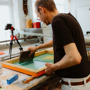 Image 29 - Photos at Work on paper (Portraits) - 2018, JP Sergent
