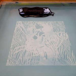 Image 51 - At Work on paper Shakti-Yoni-3-2017, JP Sergent