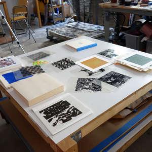 Image 30 - At Work on paper Shakti-Yoni-3-2017, JP Sergent