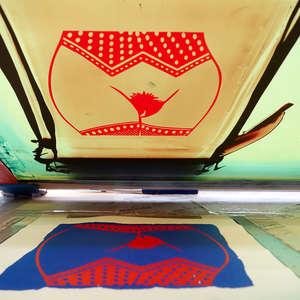 Image 22 - At Work on paper Shakti-Yoni-3-2017, JP Sergent