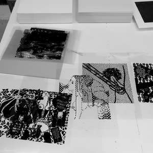 Image 54 - At Work on paper Shakti-Yoni-3-2017, JP Sergent