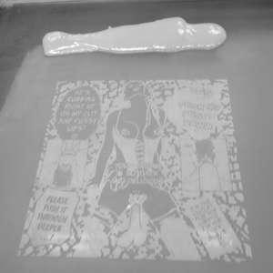 Image 52 - At Work on paper Shakti-Yoni-3-2017, JP Sergent