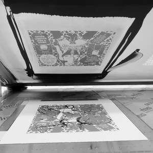 Image 53 - At Work on paper Shakti-Yoni-3-2017, JP Sergent