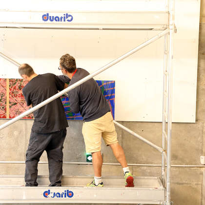 Image 67 - Z-Expo-MBA-Besancon-Photos-Installing-the-Panels-2019, JP Sergent