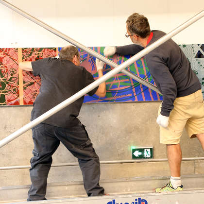 Image 75 - Z-Expo-MBA-Besancon-Photos-Installing-the-Panels-2019, JP Sergent