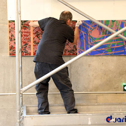 Image 74 - Z-Expo-MBA-Besancon-Photos-Installing-the-Panels-2019, JP Sergent