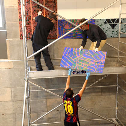 Image 82 - Z-Expo-MBA-Besancon-Photos-Installing-the-Panels-2019, JP Sergent