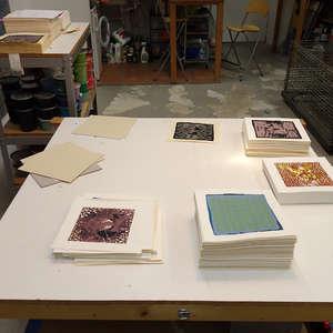 Image 360 - At Work on paper Shakti-Yoni-2018, JP Sergent