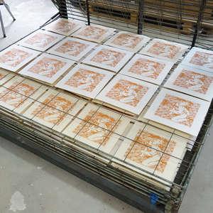 Image 236 - At Work on paper Shakti-Yoni-2018, JP Sergent