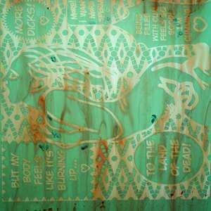 Image 242 - At Work on paper Shakti-Yoni-2018, JP Sergent