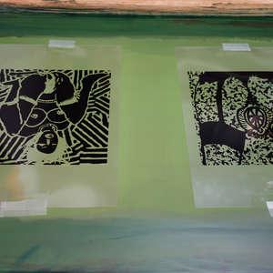 Image 132 - At Work on paper Shakti-Yoni-2018, JP Sergent