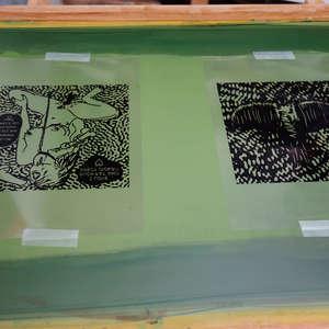 Image 127 - At Work on paper Shakti-Yoni-2018, JP Sergent