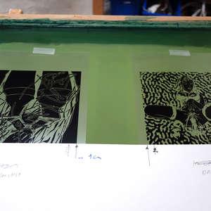 Image 104 - At Work on paper Shakti-Yoni-2018, JP Sergent