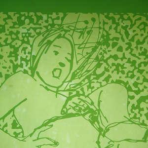 Image 188 - At Work on paper Shakti-Yoni-2018, JP Sergent