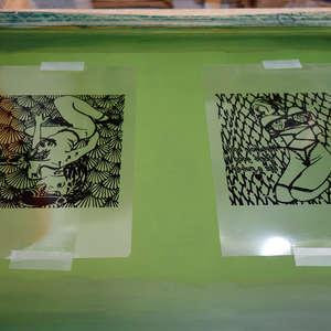 Image 164 - At Work on paper Shakti-Yoni-2018, JP Sergent