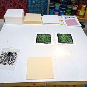 Image 212 - At Work on paper Shakti-Yoni-2018, JP Sergent