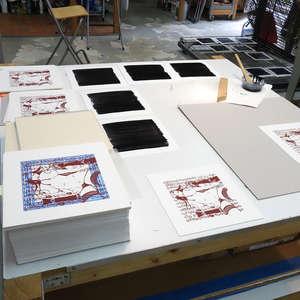 Image 201 - At Work on paper Shakti-Yoni-2018, JP Sergent