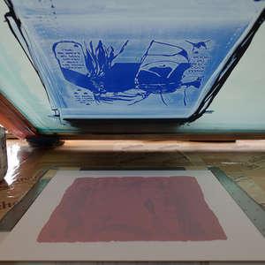 Image 218 - At Work on paper Shakti-Yoni-2018, JP Sergent