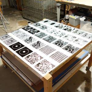 Image 1 - At Work on paper Shakti-Yoni-2018, JP Sergent