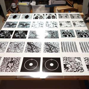 Image 2 - At Work on paper Shakti-Yoni-2018, JP Sergent