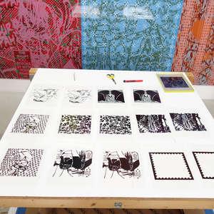 Image 4 - At Work on paper Shakti-Yoni-2018, JP Sergent