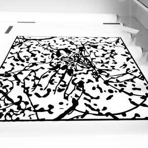 Image 33 - At Work on paper Shakti-Yoni-2018, JP Sergent