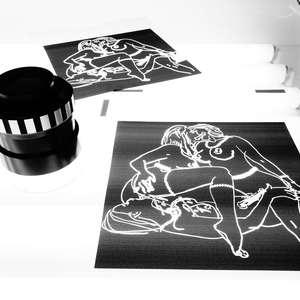 Image 26 - At Work on paper Shakti-Yoni-2018, JP Sergent