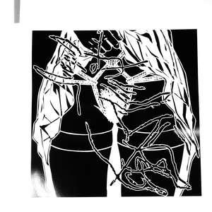 Image 15 - At Work on paper Shakti-Yoni-2018, JP Sergent