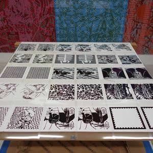 Image 47 - At Work on paper Shakti-Yoni-2018, JP Sergent