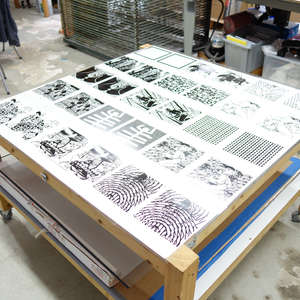 Image 44 - At Work on paper Shakti-Yoni-2018, JP Sergent