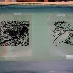 Image 103 - At Work on paper Shakti-Yoni-2018, JP Sergent