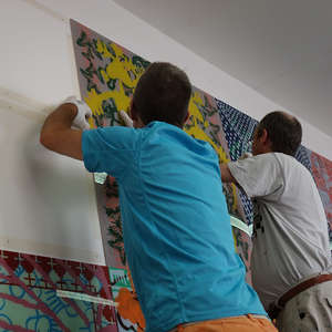 Image 41 - At Work-Installation, JP Sergent
