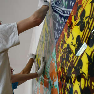 Image 37 - At Work-Installation, JP Sergent