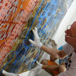 Image 34 - At Work-Installation, JP Sergent