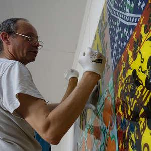 Image 38 - At Work-Installation, JP Sergent