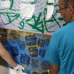 Image 31 - At Work-Installation, JP Sergent