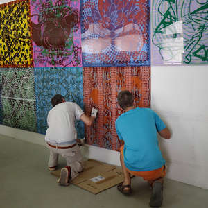 Image 29 - At Work-Installation, JP Sergent