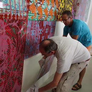 Image 20 - At Work-Installation, JP Sergent