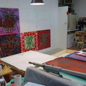 Image 5 - At Work-Installation, JP Sergent
