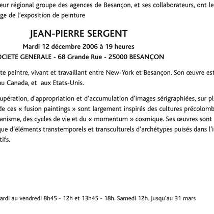 Image 22 - zExpositions diverses France, JP Sergent
