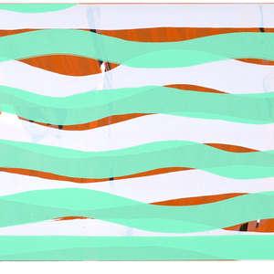 Image 68 - Half Paper 1997/2003,  monoprint, acrylic silkscreened on BFK Rives paper, 61 x 107 cm., JP Sergent