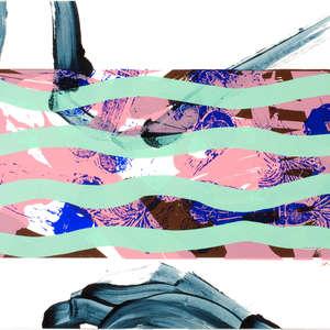 Image 100 - Half Paper 1997/2003,  monoprint, acrylic silkscreened on BFK Rives paper, 61 x 107 cm., JP Sergent