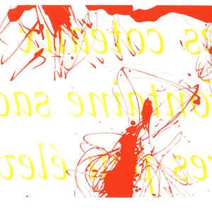 Image 48 - Half Paper 1997/2003,  monoprint, acrylic silkscreened on BFK Rives paper, 61 x 107 cm., JP Sergent